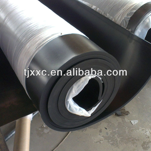 1.5g/cm3 SBR rubber sheet roll