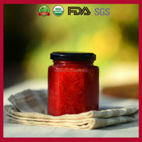 Hot Sale Sweet Strawberry Jam with Fresh Fruit