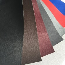 0.8mm knitting backing pvc leather, Furniture PVC Leather for Sofa Synthetic Leather