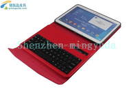 "10.1"" Tablet PU Case Cover Removable Wireless Bluetooth Keyboard For SAMamsung galaxy 10.1 inch"