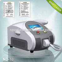 Best China hot sale!! Super Fast Color Touch Screen Q-switch nd yag laser for tattoo removal and eyeline 10HZ