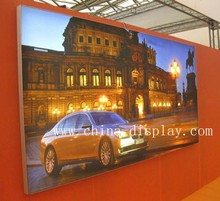 Professional Large Size Advertising Display Led Tension Fabric Sign For Car Show