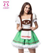 Halloween Sell Maid Outfits Bavarian Oktoberfest Party Sexy Beer Girl Holloween Costumes For Women Plus Size Fancy Dress XXL