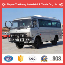 China Dongfeng 20 Seater 4x4 Bus / 4WD Cross Country Bus Price / 20 Seater Off Road Passenger Bus