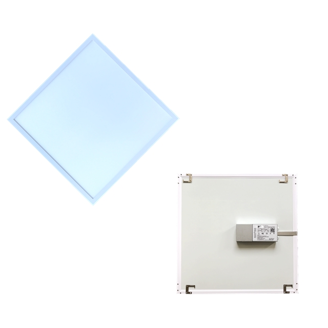 White Frame Edge lit 0~10V PWM and Rx Dimmable ETL DLC FCC 2x2 LED <strong>Flat</strong> Panel Light