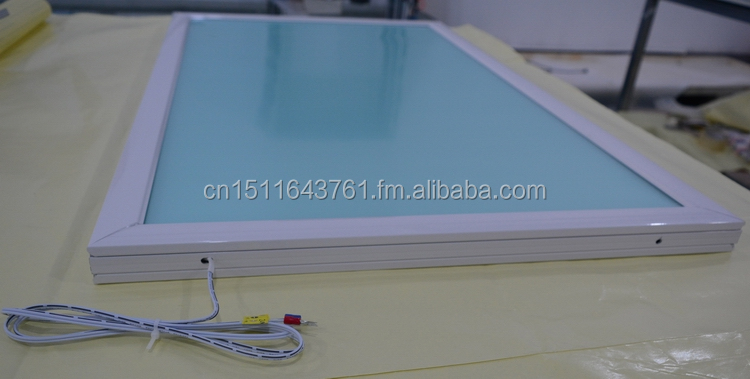 Double-sided silmline light box WD10-1D wires powerd