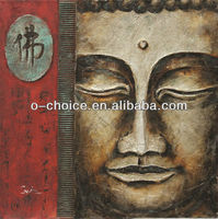 3d Buddha abstract oil painting on canvas