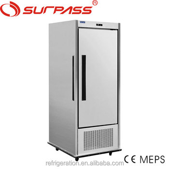G600LFGN Surpass Stainless Steel Commercial Banquet Refrigerated Food Mobile Cart