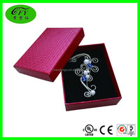 Hot-selling different types gift packaging jewelry boxes with EPE foam insert
