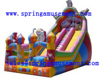 Top sale funfair attraction jumping castles inflatable water slide SP-SL112