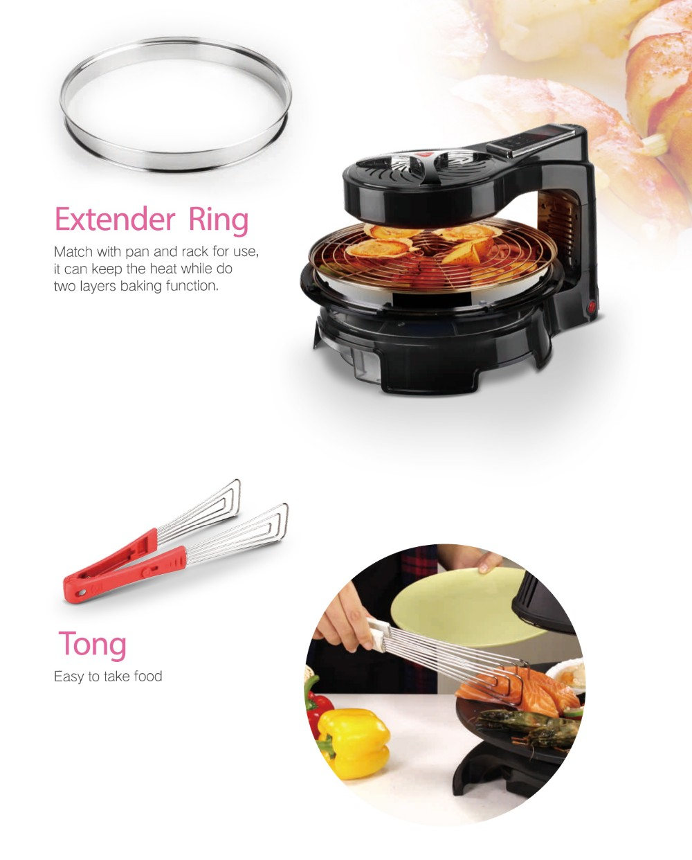 Innovative Easy Grill 1400W Halogen Grill
