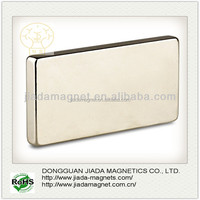 high strength grade n52 rare earth ndfeb huge block magnet
