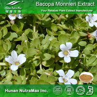 Factory supply Bacopa Monnieri extract/Bacopaside 50%/Bacoside/Improve memory plant extract