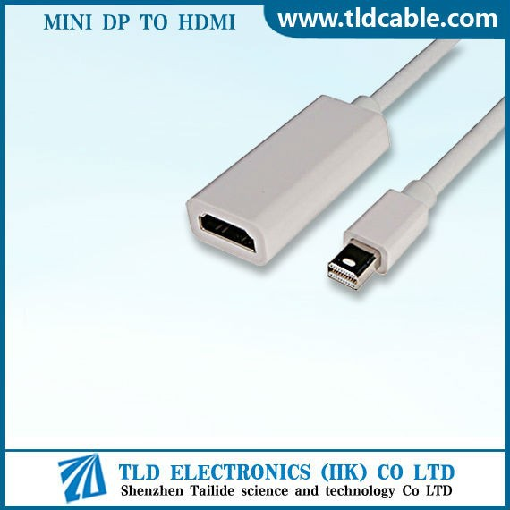Mini Display Port to HDMI HDTV Cable For Apple Mac MacBook 3m