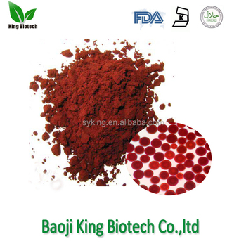 Professional supplier pure Astaxanthin powder price CAS NO. 472-61-7