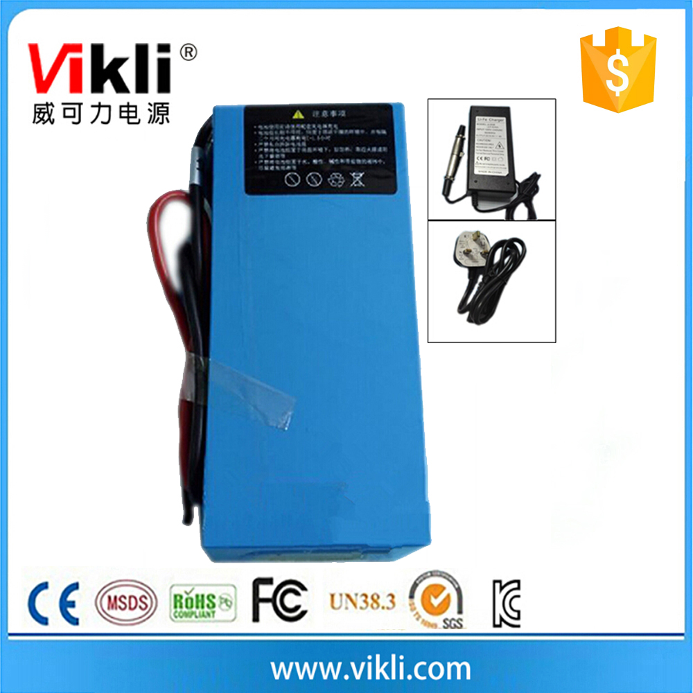LiFePO4 type 12V 30Ah rechargeable battery li-ion battery pack for car usage