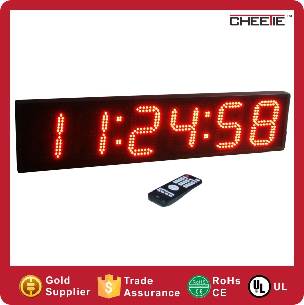 Large Outdoor Digital Clock LED