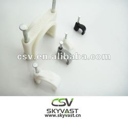 U shape nail cable electrical clip