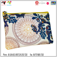 Wholesale coin wallet for women beautiful leather China made wallet custom embroidered wallets