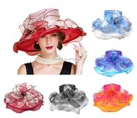 New Fashion ladies wedding and church hats