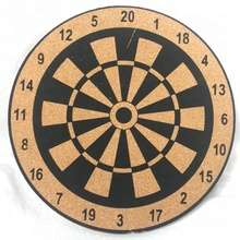 New Production Creative Cork Target Darts Board for Home Bar Entertainment Decoration