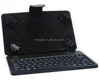 Hottest sale good quality 13.3inch tablet pc leather keyboard case, universal 13.3 inch tablet case, leather tablet case
