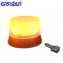 Compact Emergency LED Flashing warning strobe beacon magnetic tractor warning light