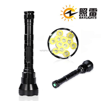 12 x XM-L T6 New Power_Chinese New LED Rechargeable Flashlight Manufacturer