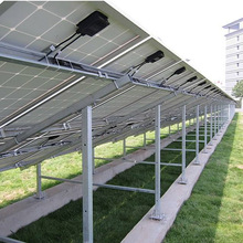 Ground Solar Mounting System C-steel Solar Panel Bracket PV Mounting Structure Photovoltaic Stents