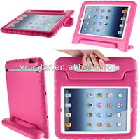 Factory Price!!! Very attractive custom design shockproof handheld stand EVA Foam oem case for ipad 2 3 4 5 kid gift