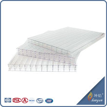 UV-anti 10mm pc sheets soundproof plastic for roofing