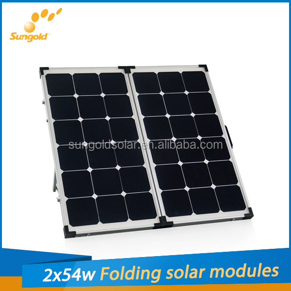 2014 hot sell sunpower portable solar panel for rv