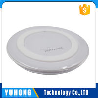 Best Quality 5V 2A smart phone wireless charger qi standard For SAMSUNG Note5