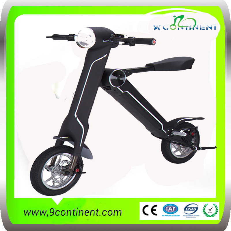 12Inch 36v 240w high quality electric folding bike lintex scooter with lights