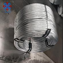bwg # 14 gauge hot dipped galvanized wire rod coil