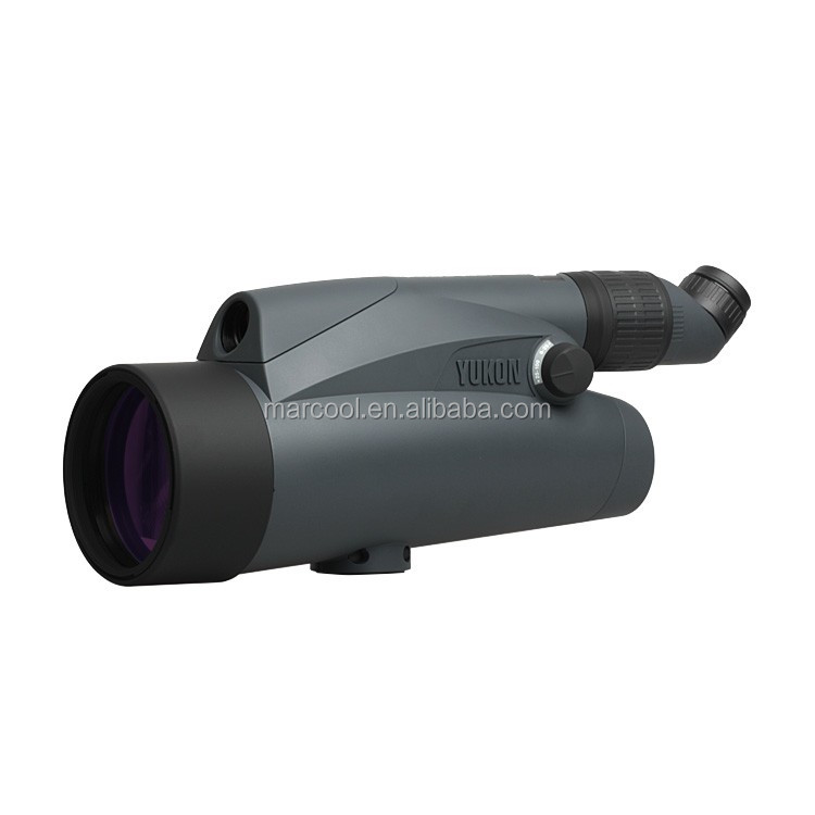 Yukon 6-100x100 Spotting Scope Wide magnification range for long-range fixed surveillance telescope monucular