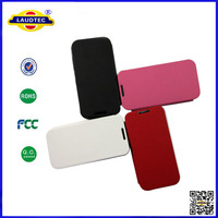 New Style Stand Shining Leather Flip Case Cover For LG L90 Dual Laudtec