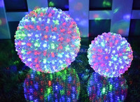 Outdoor Christmas decorations LED string light flower ball light