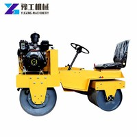 Hot Sale mini smooth wheel small vibratory road roller