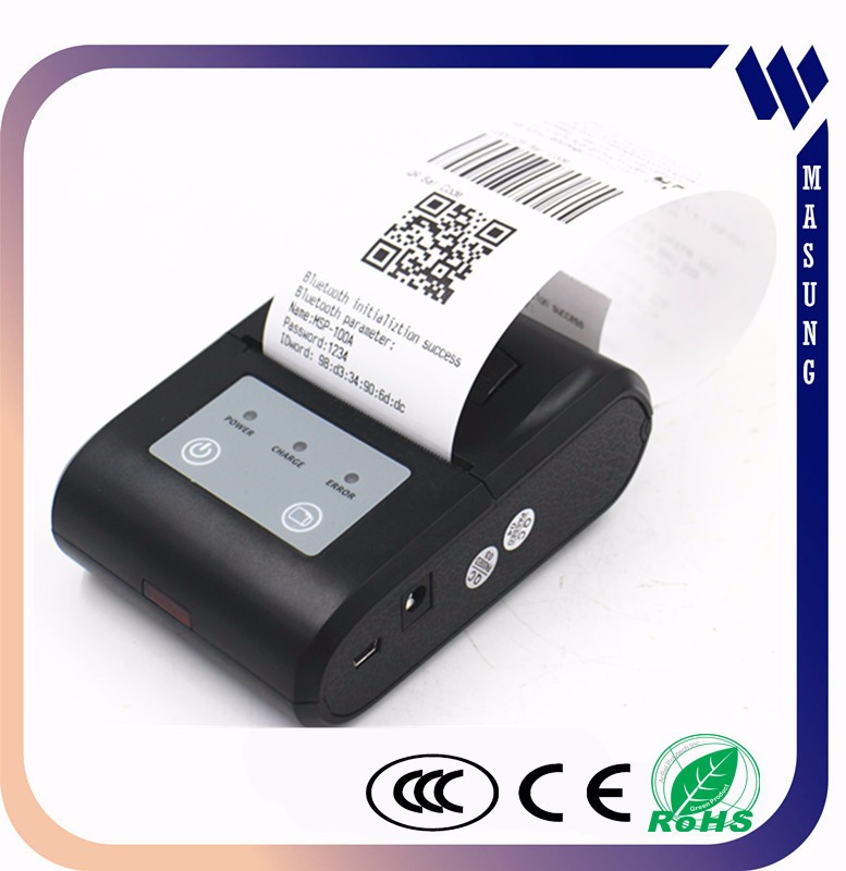 black and white optional cheap 2inch android os portable thermal receipt printer