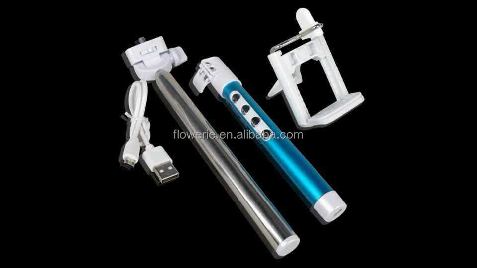 FL483 mobile phone bluetooth monopod_shutter Mobile timer with focus