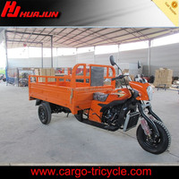 Goods delivery small 3 wheel motorbike gasoline tuk tuk motorcycle