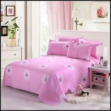 factory price bedding set 100% cotton hotel bed sheets
