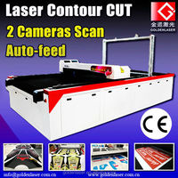 Sublimated Fabric Cutting,Automatic Motocross Suits Laser Cutting Machine