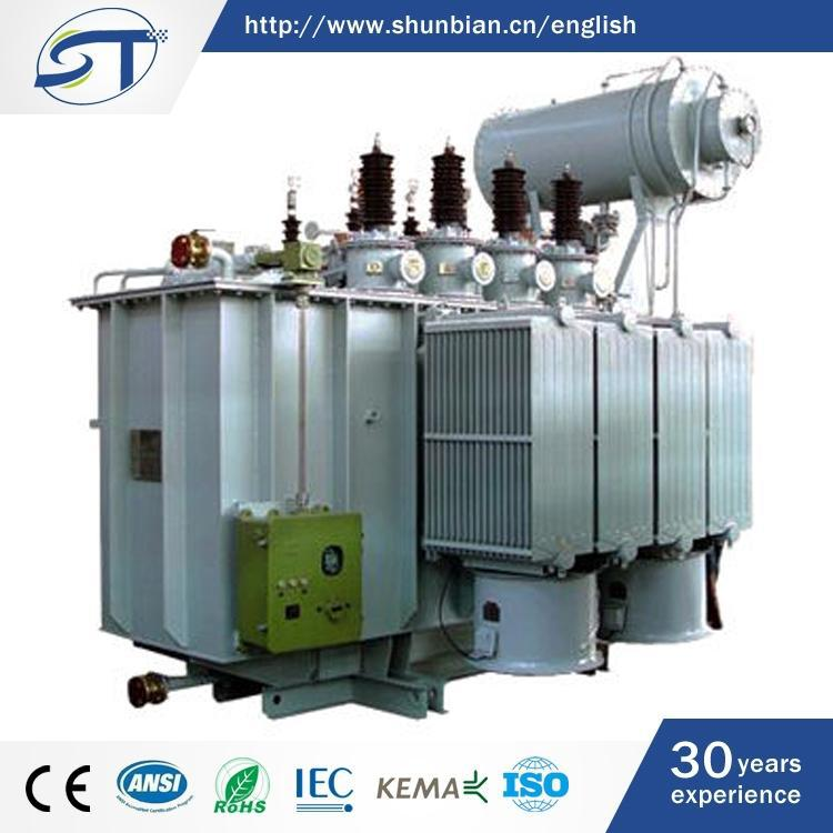 3 Phase Electrical Equipment Modern Design Oil Immersed Type 380 To 220 Transformer