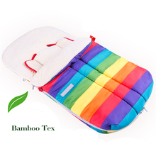 Newest Design Antianaphylaxis Anti mite and Ultraviolet Multifunctional Bamboo fiber Envelope Rainbow Baby Sleeping bag