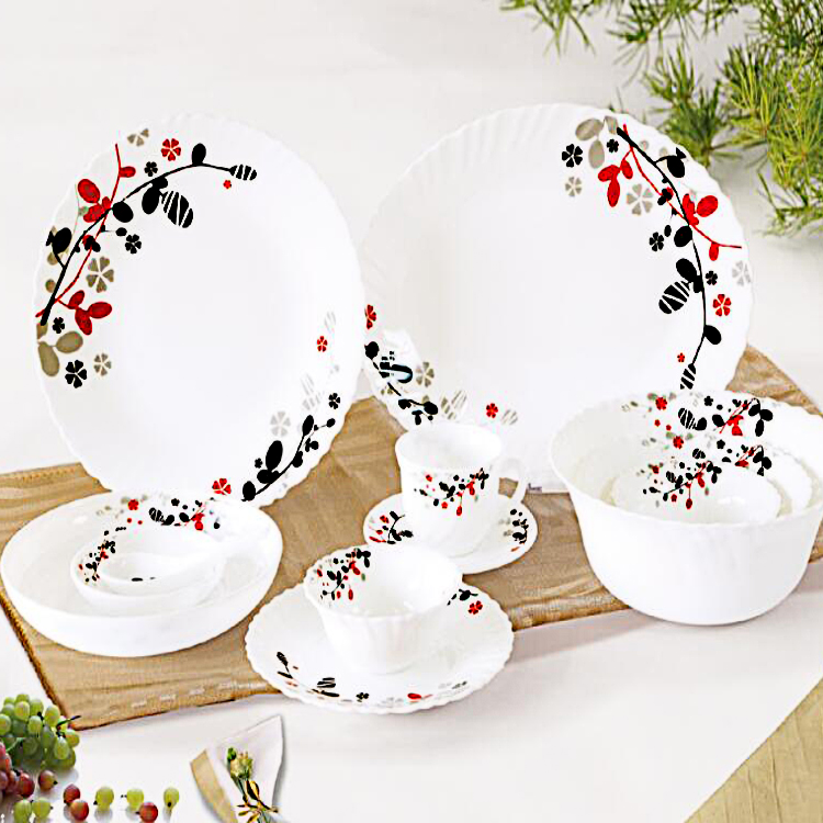 New Decision Tempered Glass Dinnerware
