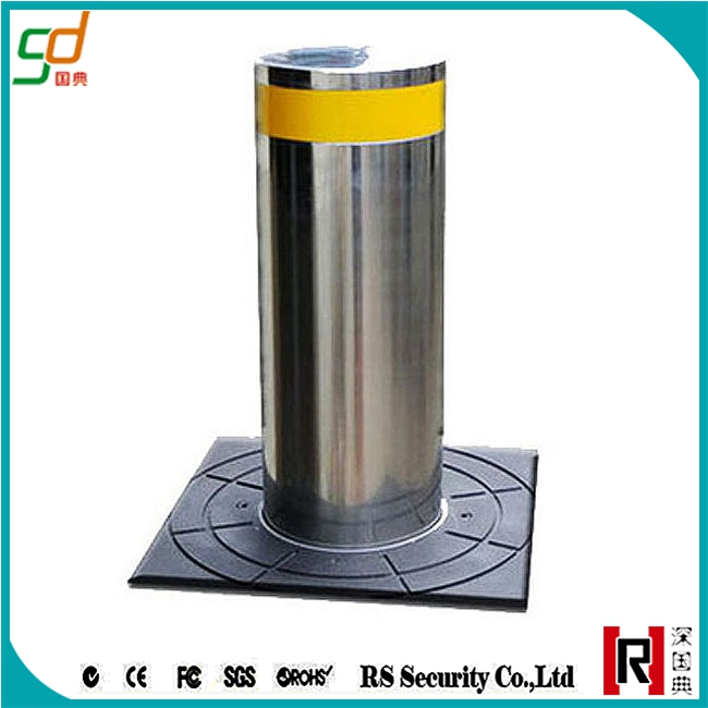 Stainless steel car parking system safety bollards