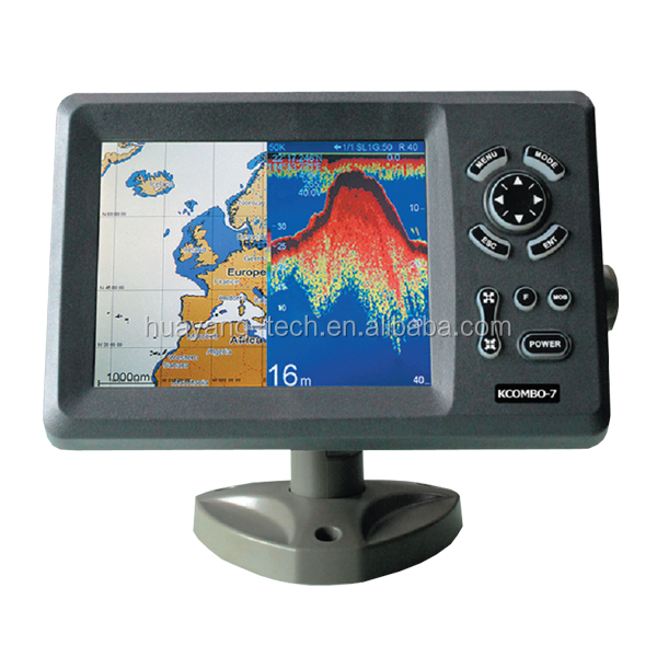 KCOMBO-7 GPS plotter and find fishing combo transducer