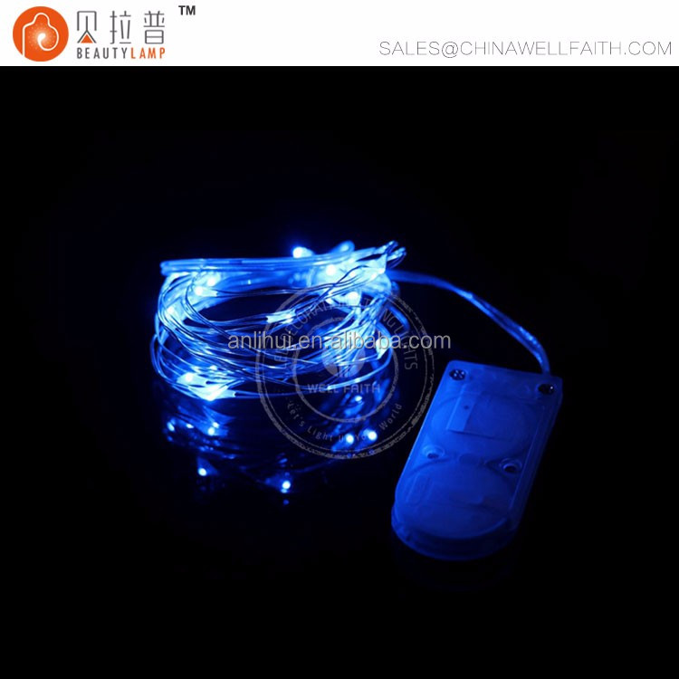 CR2032 Button Battery 2M 20LED Micro Tiny LED String Lights